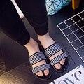 New2016 Летние Тапочки Мужчин Пляж Вьетнамки мужские Сандалии Моды Тапочки Резиновая Подошва Случайные Люди Вьетнамки Обувь Сандалии плоские