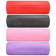 45cm x15cm jogas pilates Eva putu rullīšu ķermeņa masāža sporta trenažieri ar triggeriem punktiem muskuļu relaksācija 4 krāsas