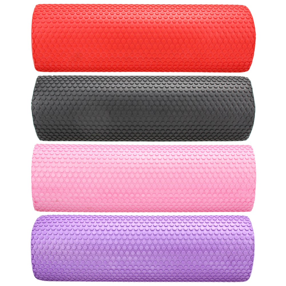 45x15cm EVA Foam Roller Yoga Blocks Exercise Home Gym Massage Floating Points Fitness Block Sports Training Muscle Relaxation