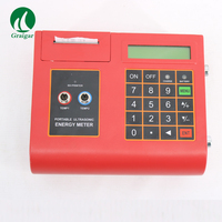 TUC 2000E Portable Ultrasonic Flow Meter Flowmeter Temperature Heat Meter with Medium transducer TM 1 High Accuracy measuring
