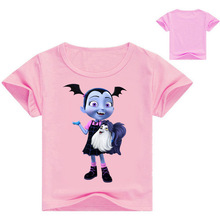 Vampirina Cartoon T-shirts Semmer New Children T Shirt for Tops Tees Boys Kids Clothes T-shirt 3-16Y