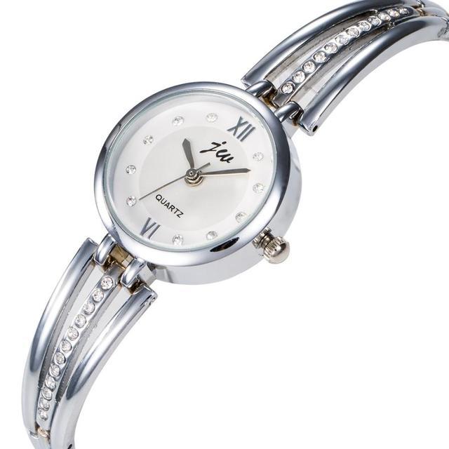 Luxury Bracelet Watch For Women Ladies Fashion Quartz-watch Female Imitation Dia