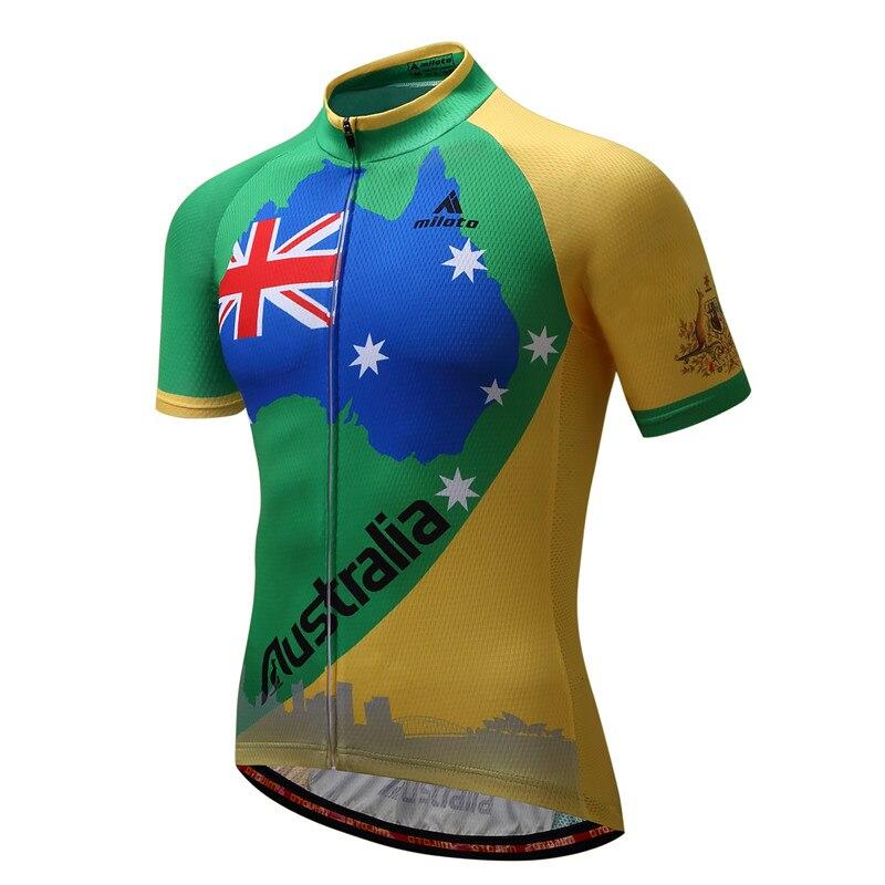 4f0c09ae8 Dropwow MILOTO 2018 Cycling Jersey Tops Summer Racing Cycling ...