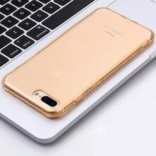 Фотография Qoowa classic jewelled serial simple luxury top quality rhinestone TPU case for iphone 7 8 (4.7