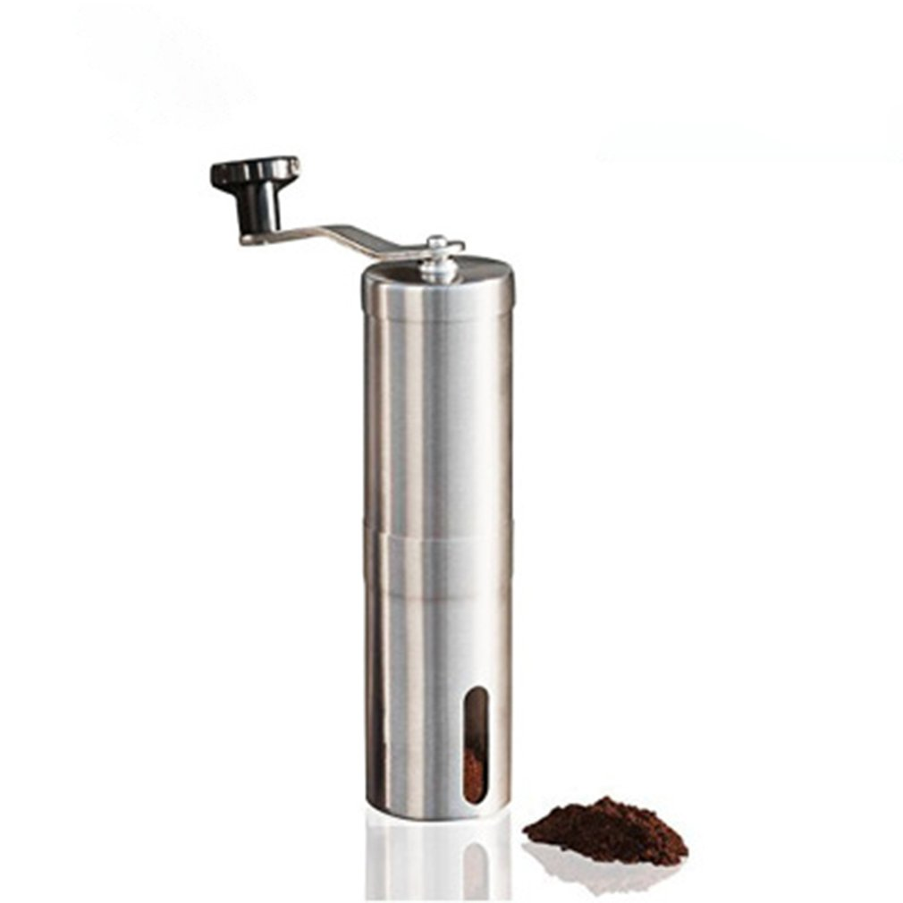 Manual Coffee Grinder Coffee Maker ceramics Core Stainless Steel Hand Burr Mill Grinder Ceramic Corn Coffee Grinding Machine