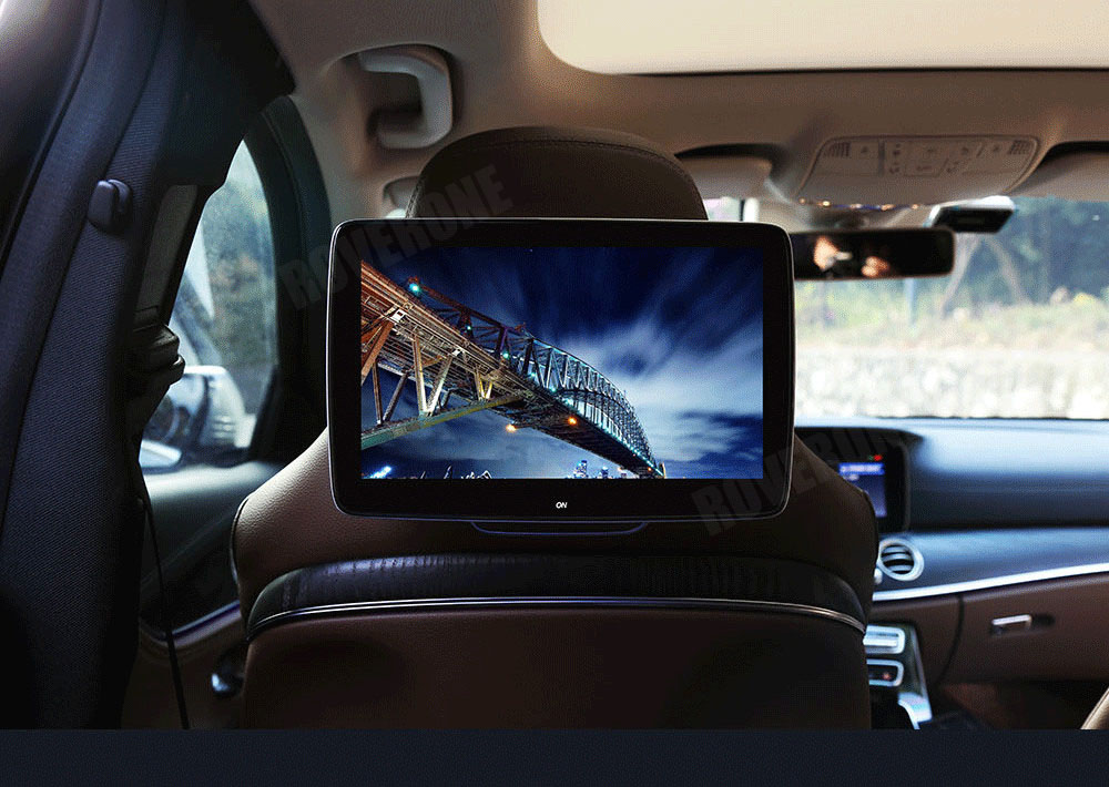 Roverone 2 шт. x 11 ''Android 6.0 Автомобильные ПК подголовник TFT ЖК дисплей Мониторы подголовник сиденье Развлечения Планшеты 1080 P спинка сиденья Диспле