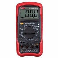 UNI T UT53 digital multimeter resistance measurement diode/transistor test digital display AC/DC multimeter Ammeter