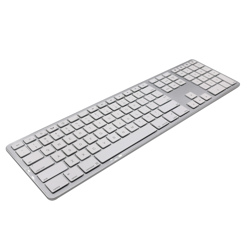GuHo Ultra Slim Bluetooth Wireless Keyboard 104 Keys for Apple iOS ipad Keyboard Android Windows Notebook Gaming Home Office belt design double breasted woolen blends coat