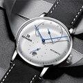 Швейцарские оригинальные модные мужские часы Бингер  популярные брендовые многофункциональные автоматические часы  мужские водонепрониц...