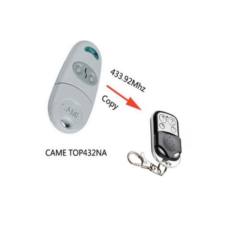 2pcs FOR CAME TOP432NA remote duplicator 433.92mhz remote control Transmitter with battery free shipping2pcs FOR CAME TOP432NA remote duplicator 433.92mhz remote control Transmitter with battery free shipping