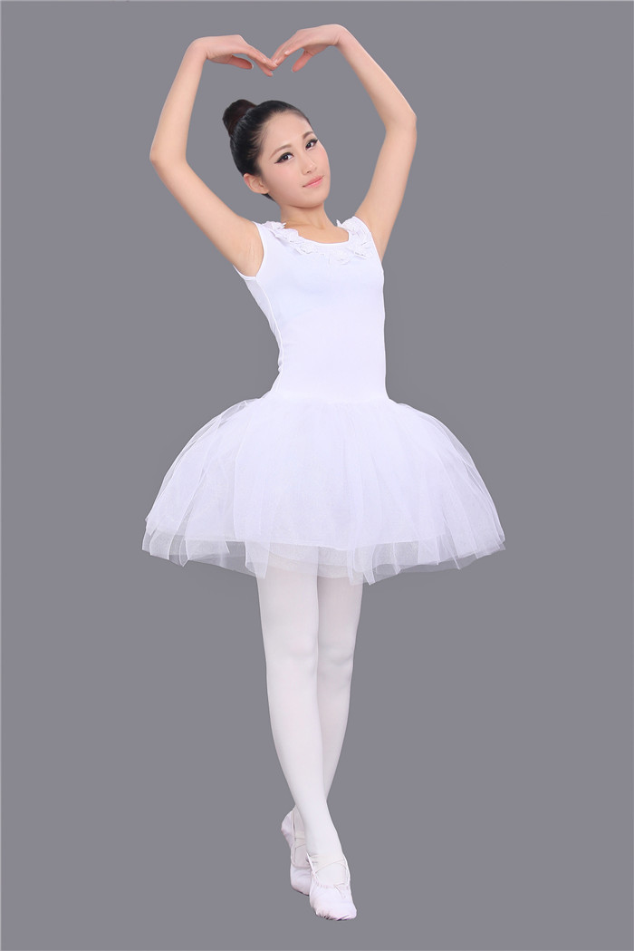 Adult Classical Ballet Leotard Tutu Gymnastics Leotard For Women Swan Lake Ballet Costume Professional Girls Ballet Dancewear