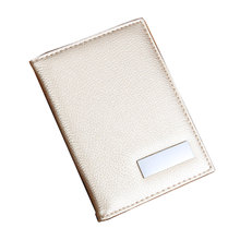 BISI GORO Brand Passport Cover Russia Spain USA France PU Leather with Credit Card Holder Protective Case