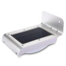 LightInBox 16 LED Solar Light Outdoor Light Waterproof Energy Saving Wall Light Motion Sensor Solar Lights For Home Use