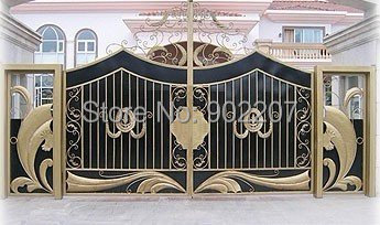 High Designs China Wrought Iron Gates Wrought Iron Gate For Home Villas In  Doors From Home Improvement On Aliexpress.com | Alibaba Group