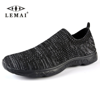 LEMAI 2017 Men's Casual Shoes,Men Summer Style Mesh Flats For Men Loafer Creepers Casual Shoes Very comfortable size:36 44