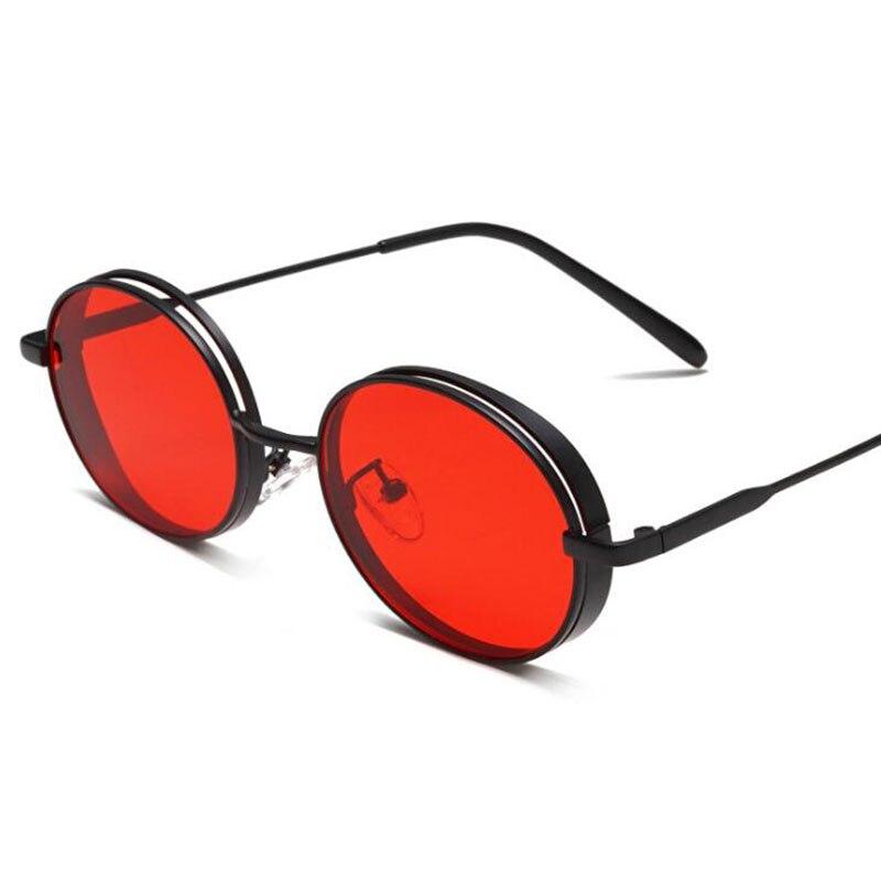2 3 Hot E 1 Moda Spessore Donne Uomini Di Da Nuovo Sole Decorativo 4 Taglio Ovali Occhiali Retro Unisex TvxqawrT4