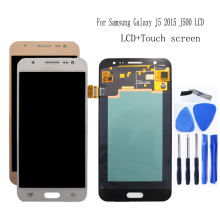 AMOLED Per Samsung Galaxy J5 2015 J500 Display LCD Touch screen digitizer Assembly J500H J500FN J500F J500M SM J500F Parti Del Telefono