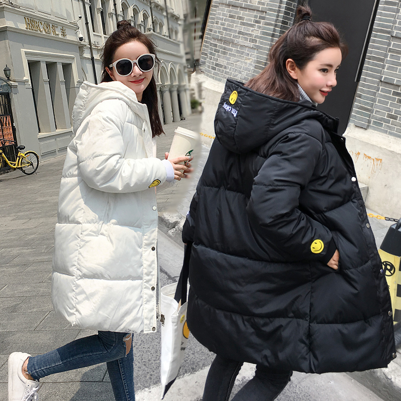 2017 maternity winter warm wadded jacket medium-long plus size fashion bread service cotton-padded jacket maternity outerwear linenall women parkas loose medium long slanting lapel wadded jacket outerwear female plus size vintage cotton padded jacket ym