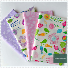 Cotton Fabric 100% fabric for DIY Sewing Quilting Fat Quarters Material For Baby&Child 160x50cm