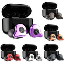 NICE New E12Pro 10mm Moving Coil Wireless Stereo Bluetooth 5.0 In-ear Earphones Ear Buds