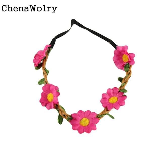 Cheap flower headband