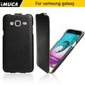 Бренд IMUCA Для Samsung Galaxy J3 2016 J320 J320F Case PU кожаная Крышка Телефона Для Samsung Galaxy J3 2016 Флип Case телефон мешки