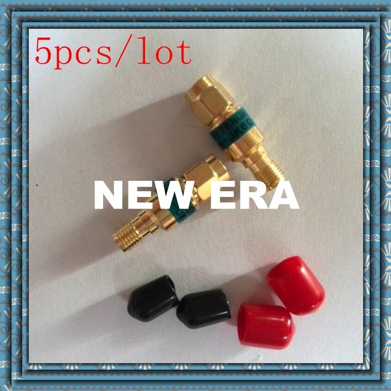 5pcs 2W SMA male to SMA  female Coaxial RF Attenuator ,DC to 6.0GHz ,50ohm,3,5,6,10,15,20,30dB,free shopping r404n01121 rf terminators term sma m 18 ghz 2w w cord mr li