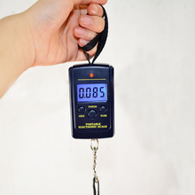 Navy Blue Black Handheld High-precision Electronic Digital 0.01kg * 40kg Hanging Lifting Scale Weight Checker Baggage Balancing(China)