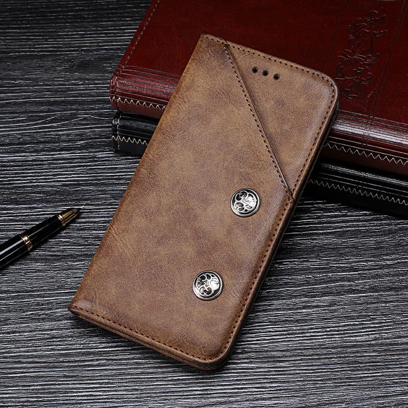 Leather Phone Case Wallet Cover For Oukitel K10 High Quality Book Stand Card Slot Flip Stand Case