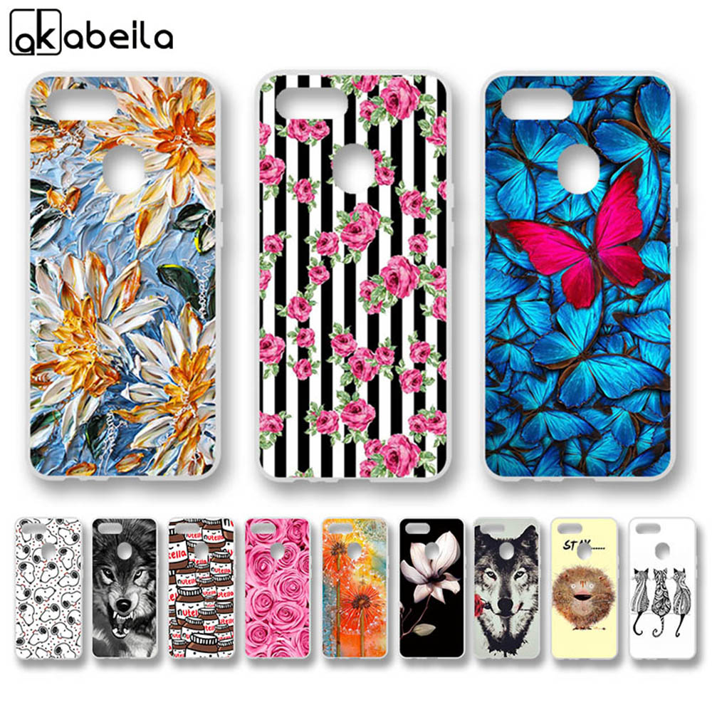 Case For Oppo F9 Cases Silicone Flexible Nutella Flamingo Flower Cover For Oppo F9 Pro Covers Fundas Coque Skin Capa