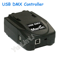 USB DMX Controller Console Stage Lighting Software USB Stage Light Controller Supports Multiple USB DMX Decoding