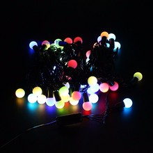 10 M 100 Led 110 V 220 V IP44 All'aperto Multicolore LED String Luci Di Natale Festa Festa di Nozze decotation Luces LED(China)