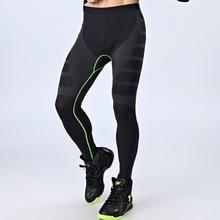 Joggers-Clothes Elastic Pant Slim Compression-Tight Fitness Bodybuiliding Quick-Dry Solid-Color
