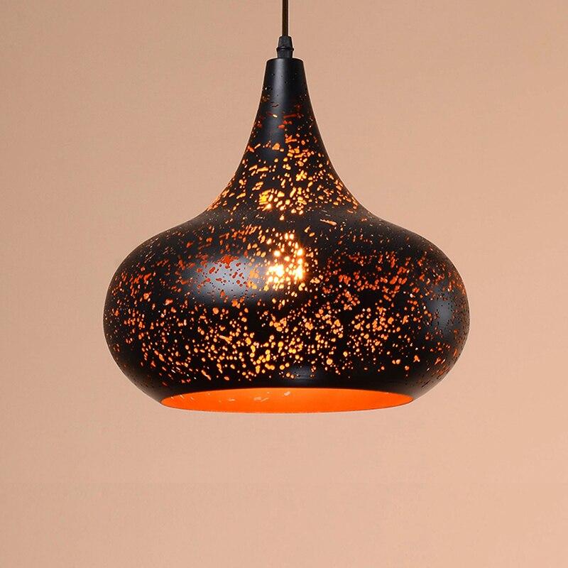Suspension vintage suspension industrielle lampe suspension E27 led luminaires loft lustres e pendentes para sala de jantar