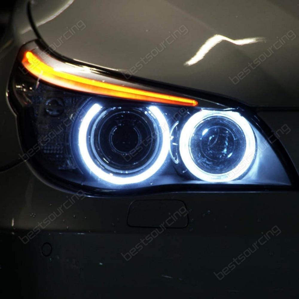 W High Power Led Angel Eye Bulbs For Bmw E E Lci Halogen Trim Ca