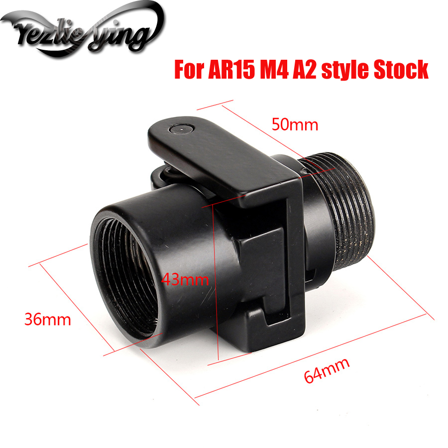 AR15 M4 A2 Estilo Inventário AK Vetor Óptica Adaptador Dobrável Lado