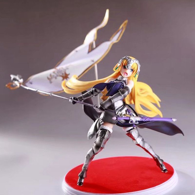 Fate Grand Order Joan of Arc Action Figure Waving Flags PVC Action Figure Collectible Model Toy no retial box (Chinese Version) 1