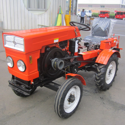 12HP Four wheel Tractor Agriculture Cultivators Tractors Improve Work Efficiency Wheel Tractable Machine