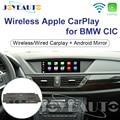 Joyeauto WIFI Draadloze Apple Carplay Auto Spelen met iOS 13 Retrofit 1 3 5 6 7 serie X1 X3 X5 x6 CIC 8.8 10.25 inch 09-13 voor BMW