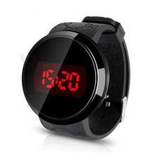 De silicona de Moda A Prueba de agua Reloj Para Hombre Fecha Reloj LED de la Pantalla Táctil