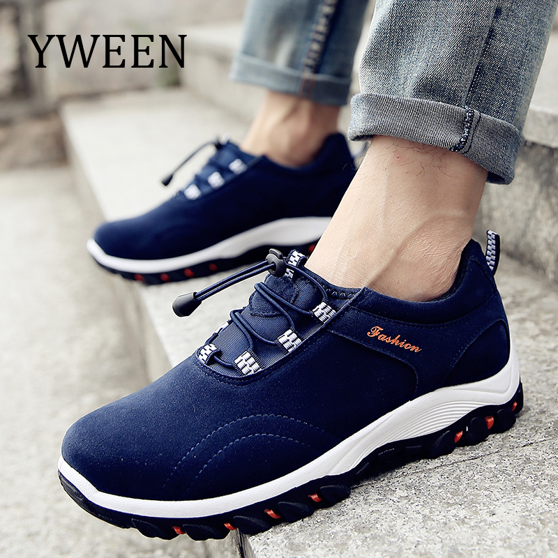 YWEEN Spring Autumn Men Casual Shoes Slip-On Style Fashion Sneakers Breathable Man Shoes Hot Sales 2018