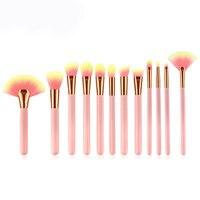 12Pcs/Set Professional Make up Brush Foundation Blush Eyeshadow Cosmetic Brush Make Up Tool Contour Kabuki Brush For Makeup 30