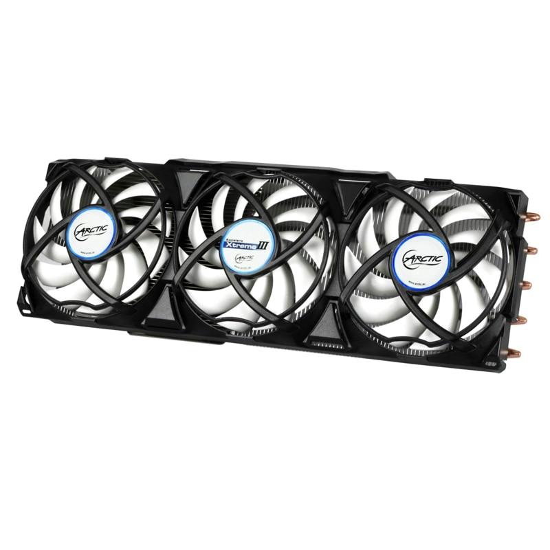 Arctic Accelero Xtreme III, 3 piezas 92mm ventilador PWM Video Graphics Card refrigerador reemplazar para RX 480 280x7970 7950 GTX 1080 1070 1060
