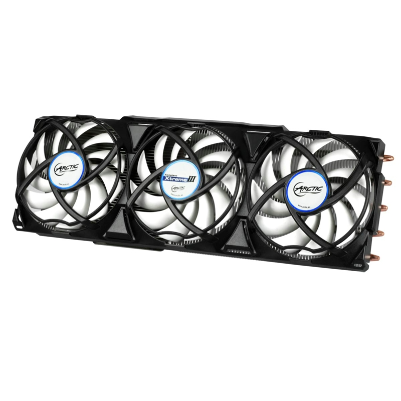 Arctic Accelero Xtreme III, 3pcs 92mm PWM Fan Video Graphics Card Cooler Replace for RX 480 280x 7970 7950 GTX 1080 1070 1060 цена