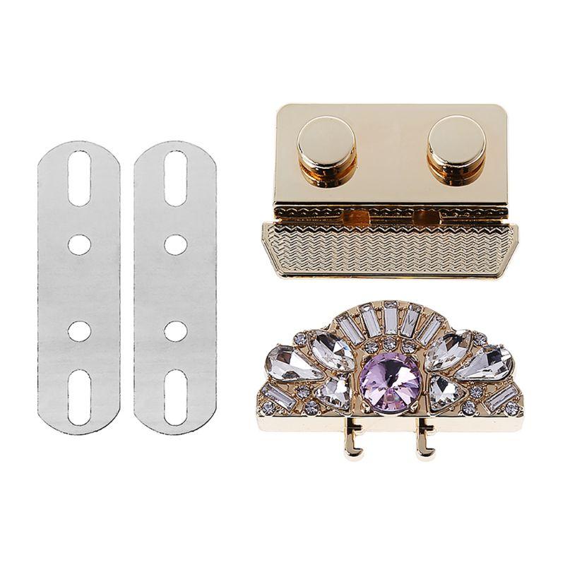 New Vintage 1 P Metal Fashion Clasp Turn Twist Lock For DIY Handbag Craft Bag Purse Hardware Accessories High Quality
