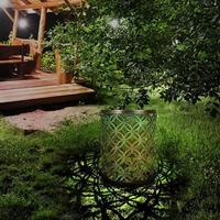 Solar LED Lantern Ground Light Outdoor Retro Garden Lawn Landscape Lamp
