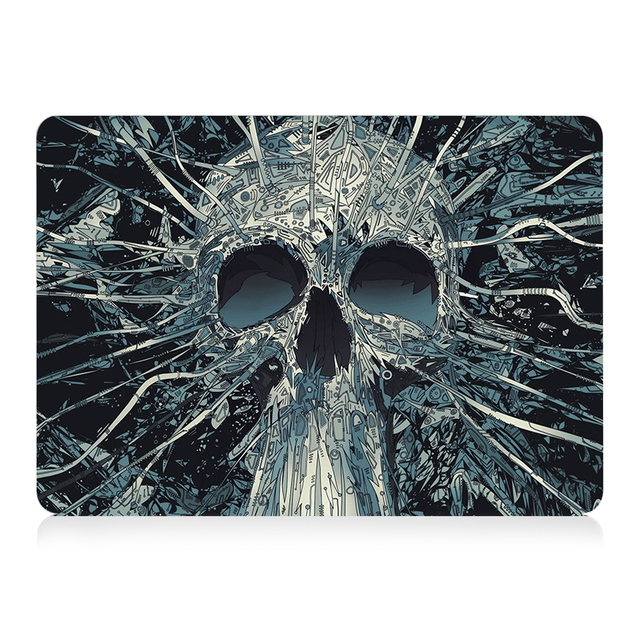 Skull Touch Case for MacBook 1