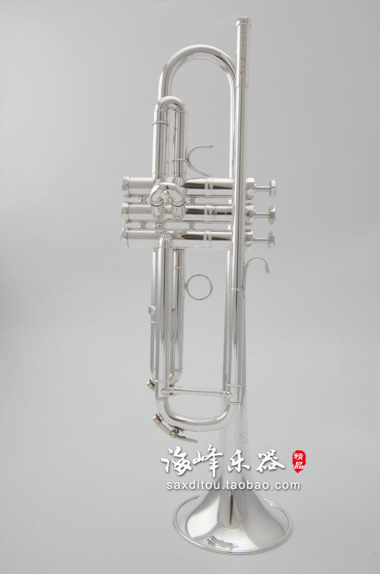 US $253 0  DHL,UPS FREE Senior Austria SCHAGERL 600S Silver Plated  Professional Trumpet Music Instruments-in Trumpet from Sports &  Entertainment on