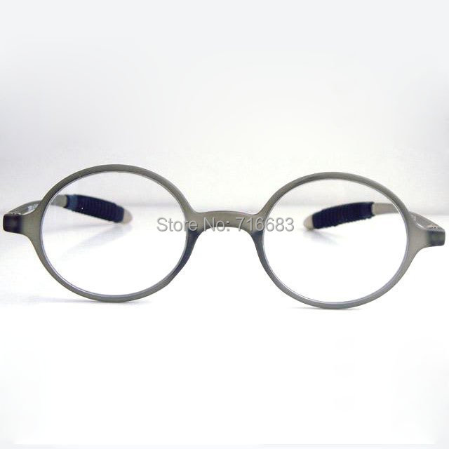 tr 90 round ultra light grey men eyeglass frame reading glasses vintage retro magnifying
