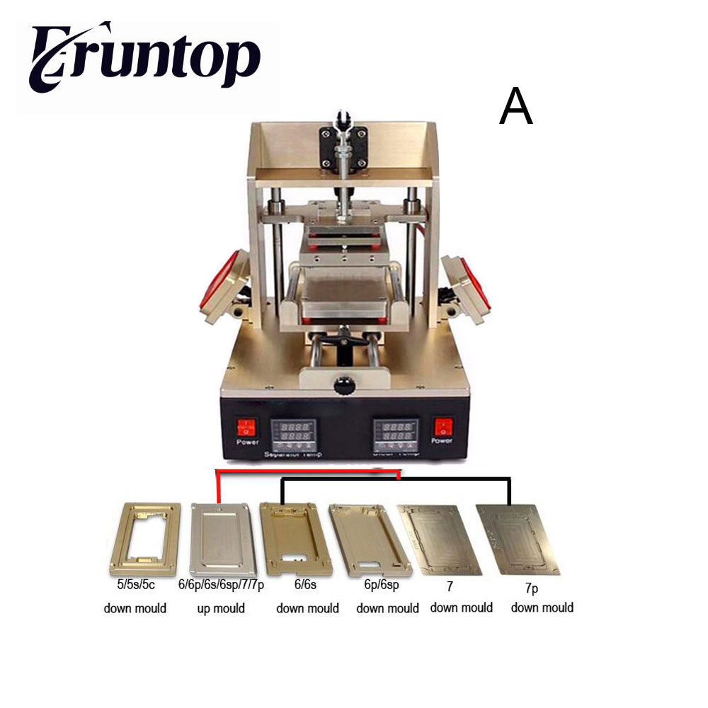5 in 1 Frame Separator = Samsung Bezel separate + iPhone Frame Laminator + Vacuum  pump Separator + Glue Remover + Preheater 3 in 1 for sumsung bezel middle frame separator vacuum glass panel lcd screen separator preheater